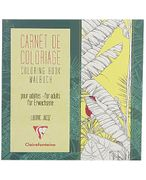 CLAIREFONTAINE Tegnebok CLAIRE 20x20cm 36 ark blomster