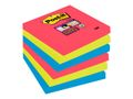 POST-IT Notes Post-it Super Sticky 654 Bora Bora 76 x 76mm Pk/6