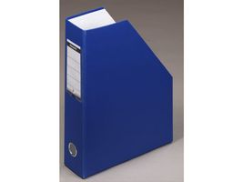 Mag. File A4 70mm Blue