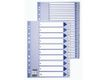 ESSELTE Indices  PP A4 1-10 White