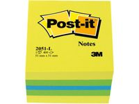 POST-IT Notes POST-IT Minikub 51x51mm lemon (3700312)