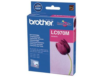 BROTHER Bläckpatron BROTHER LC970M magenta (LC970M)