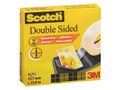 SCOTCH Dubbelhäftande tejp SCOTCH 12,7mmx22,8m