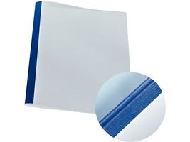 Cover thermal leather blue.1, 5mm (25)