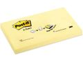 3M Notes POST-IT Z-block 76x127mm gul