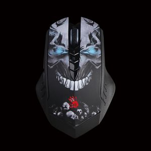 A4TECH Mouse Bloody Gaming R80 color Wireless - Metal Feet (A4TMYS45385)