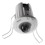 HIWATCH 2MP network dome camera, 1080p, 2.8mm F1.2 lens, PoE,