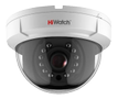HIWATCH 1MP analog dome camera, 720p, 2.8-12mm F1.4 lens, IR, IP66