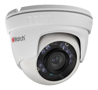 HIWATCH analoginen turret-kamera, 1MP, 720p, 2.8-12mm, IP66, IR, valk.