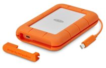 "LACIE LaCie Rugged 1TB - 2,5"" THUNDERBOLT 2/ USB3 integrert kabel"