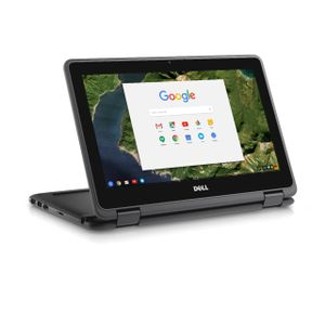 DELL Chromebook 3189 11_6_ Touch N3060 4GB 32GB Intel HD400 Chrome 1Yr CAR (50XNC)