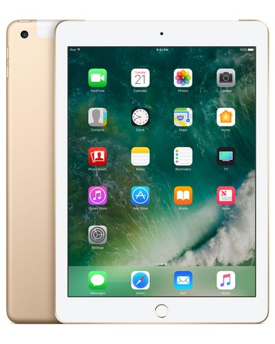 APPLE iPad Wi-Fi+Cellular 128GB - Gold (MPG52KN/A)