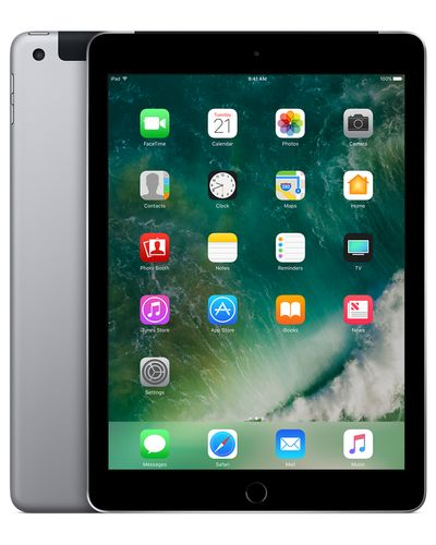 APPLE iPad Wi-Fi+Cellular 128GB - Space Grey (MP262KN/A)