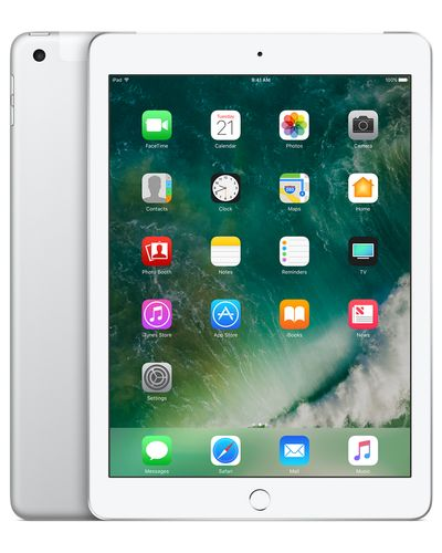 APPLE iPad Wi-Fi+Cellular 128GB - Silver (MP272KN/A)