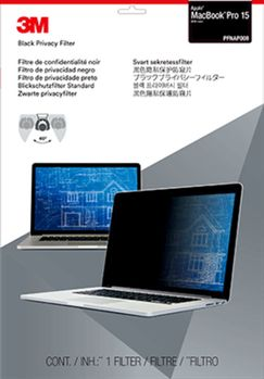 3M PRIVACY FILTER APPLE MACBOOK PFNAP008PRIVACY FILTER MACBOOK15 ACCS (7100115703)