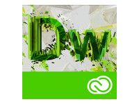 ADOBE Dreamweaver CC Renewal subscription Price-lock only Multiple Platforms Multi Language - Government - Price-lock only (65227430BC02A12)