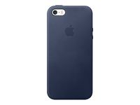 APPLE IPHONE SE LEATHER CASE MIDNIGHT BLUE (MMHG2ZM/A)