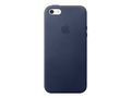 APPLE IPHONE SE LEATHER CASE MIDNIGHT BLUE