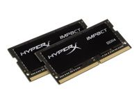 KINGSTON 32GB 2400MHz DDR4 CL14 SODIMM Kit of 2 HyperX Impact (HX424S14IBK2/32)