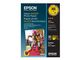 EPSON Value Glossy Photo Paper 10x15cm 20 sheets x2 (BOGOF)