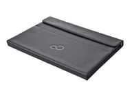 FUJITSU SLEEVE CASE STYLISTIC Q704 25,78cm 10,1inch  Clip-on shell black synthetic leather black microsuede (S26391-F1193-L20)