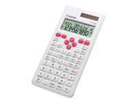 F-715SG EXP DBL CALCULATOR WHITE/ MAGENTA                    IN ACCS