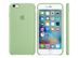 APPLE IPHONE 6S PLUS SILICONE CASE MINT
