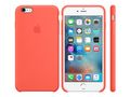 APPLE IPHONE 6S PLUS SILICONE CASE APRICOT