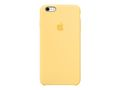 APPLE IPHONE 6S PLUS SILICONE CASE YELLOW