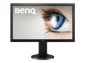 BENQ BL2405PT 24inch LED FHD Display 1920x1080 16:9 1000:1 2ms 250cd Displayport HDMI Black
