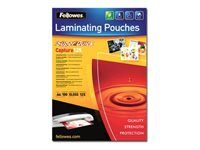 FELLOWES Laminating Pouches Laminerings poser (5440101)