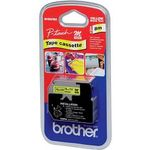 BROTHER P-Touch svart/gul 9mm (MK-621BZ)