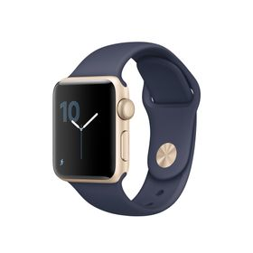Watch Series 1 38mm Gold Alum Midnight Blue Sport Band