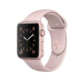 APPLE Watch Series 2 42mm Gold Alum Pink Sand Sport Band (MQ142DH/A)