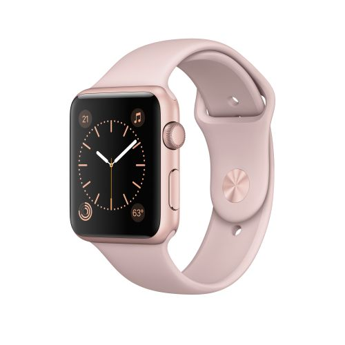 APPLE Watch Series 1 42mm Rose Gold Alum Pink Sand Sport Band (MQ112DH/A)
