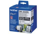 BROTHER Label roll/ white 62mmx30.48m f QL-series (DK22205)