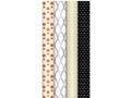 HEDLUNDS Presentpapper 70cmx1,5m Metall