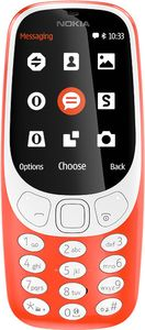 NOKIA 3310 3G DS TA-1006 NORDICS WARMRED (A00028688)
