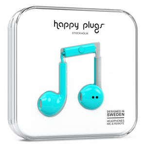 HAPPY PLUGS EARBUD PLUS TURQUOISE                        IN ACCS (7817)