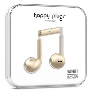 HAPPY PLUGS EARBUD PLUS CHAMPAGNE                        IN ACCS (7826)