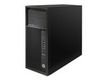 HP Workstation Z240 - MT - 1 x Core i7 7700 / 3.6 GHz - RAM 8 GB - SSD 256 GB - DVD - HD Graphics 630 - GigE - Win 10 Pro 64-bitars - skärm: ingen