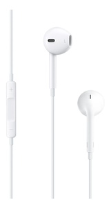 APPLE Earpods with 3,5mm plug, headset for iPhone and iPad, bulk, white (MD827ZM/A-RETAIL)