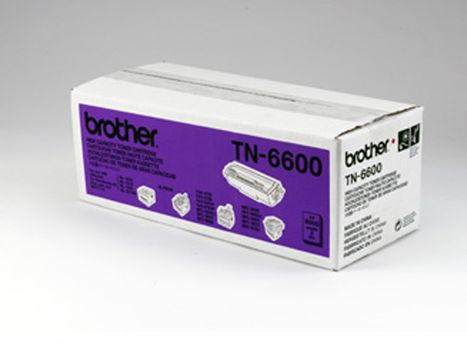 Brother Toner BROTHER TN6600 6K sort