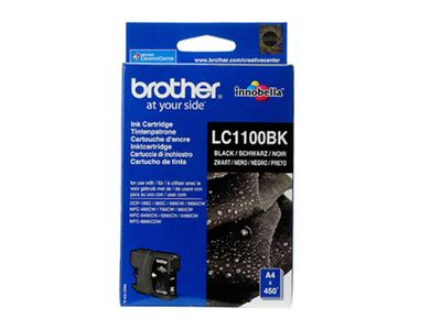BROTHER Bläckpatron BROTHER LC1100BK svart (LC1100BK)