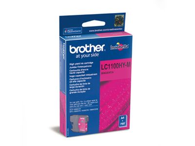 BROTHER DCP6690CW/ 6490,  Magenta Ink (LC1100HYM)