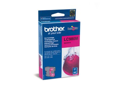 BROTHER LC980M Magenta ink 260 pages (LC980M)