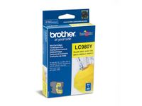 BROTHER LC980Y Yellow ink 300 pages (LC980Y)