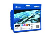 BROTHER LC985V value pack ink cartridge cyan (blister)