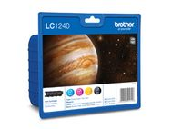 BROTHER LC1240VAL  ink cartridge value pack blister(600) (LC1240VALBPDR)