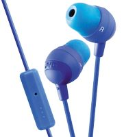 Marshmallow in-ear remote + microphone Blue - qty 1